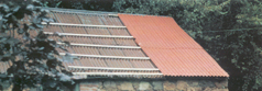 Timber is laid over the existing roof that the new corrugated overclad roofing sheets can be mechanically fixed to it