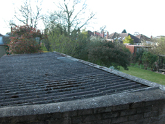 Plastic Coated Steel Box Profile Sheets are the ideal choice when replacing an asbestos roof.