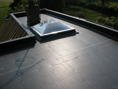 Ethylene Propylene Diene Monomer or EPDM offers outstanding durability and suits all types of flat or gently sloping roofs, proving popular option in the replacement of their flat roofs