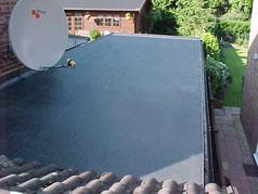 After EPDM Flat Roofing