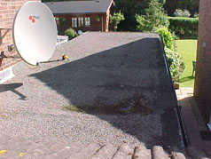 Before EPDM Flat Roofing