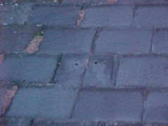 Older slate roofs have in most cases no felt membrane, which can be a cause of heat loss.