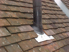 Our roof maintenance plan includes re-pointing and replacing damaged pots to chimneys